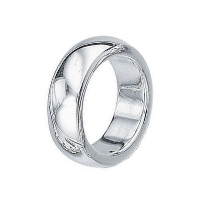 925 Sterling Silver Plain Heavy Ring