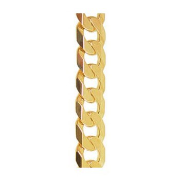 9ct Yellow Gold Curb Chain Bracelet