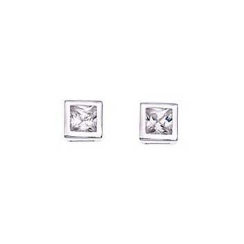 925 Sterling Silver Cubic Zirconia Earrings