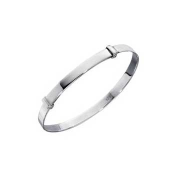 925 Sterling Silver Slide Bangle